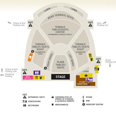 Lakewood Amphitheater Seating Chart