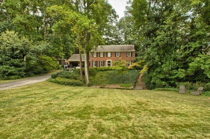 4595 Runnemede Road listed for sale in Chastain Park by Carson Matthews, Atlanta Fine Homes Sotheby's International Realty