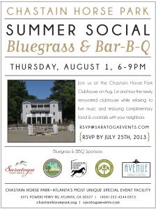 chastain horse park summer social