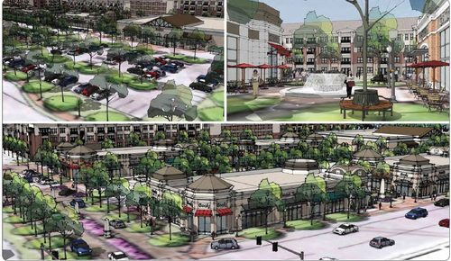 Sandy Springs Gateway Rendering