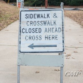 Chastain Park PATH Closed (1 of 5)
