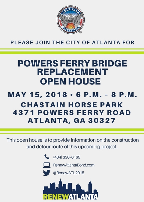 Powers Ferry Bridge Replacement